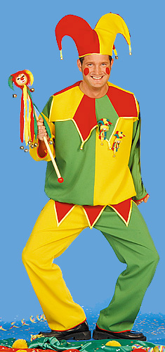 Jester in green and yellow: birthday parties hong kong childrens shows magic juggling functions birthdays party hong kong 生日會派對、小丑、扭汽球、­雜耍雜技, 舞蹈  遊戲, 小丑扭汽球、雜耍雜技