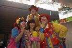 Tony Clown:clowns stiltwalkers stiltwalker clowns stilt performers hong kong 生日會派對、小丑、扭汽球、雜耍雜技武術、舞蹈  遊戲, 小丑扭汽球、雜耍雜技