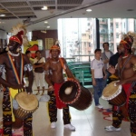 Drummers at Dragon Centre, Sham Shui Po