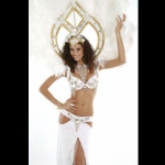 With different costume options - White Samba costume.