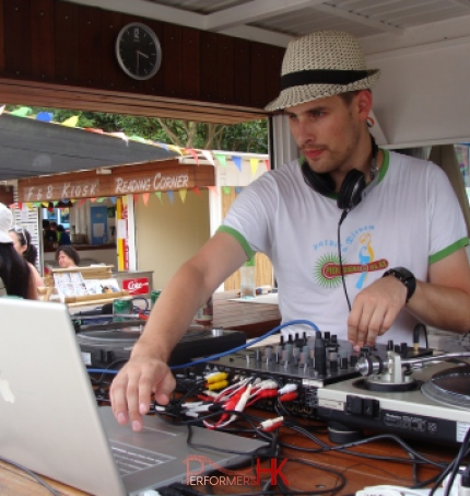 Dj Pure MB in Hong Kong for outdoor parties and events