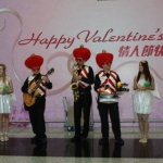 Showing the love for valentines day at HKIA.