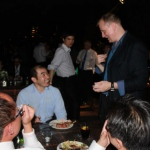 Shaun is performing his amazing table magic at Wooloomooloo steakhouse, Wan chai.