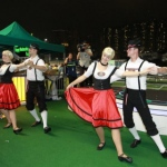 Happy Valley Jockey Club Oktoberfest event.