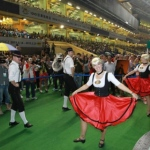 The German dance performance attracted a big crowd of audience at the Jockey Club Happy Valley.