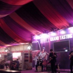 Live band musician in HK performing at Hong Kong Wine and Dine fair