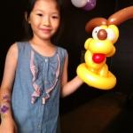 Pluto balloon for little girls.