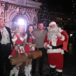 Santa spreading cheer at 1881 Xmas festival in Hong Kong