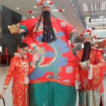 We also provide Choi Nui for HKIA Chinese Year parade.