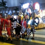 Hong Kong Chinese new year Parade with our 10 talented dancers.