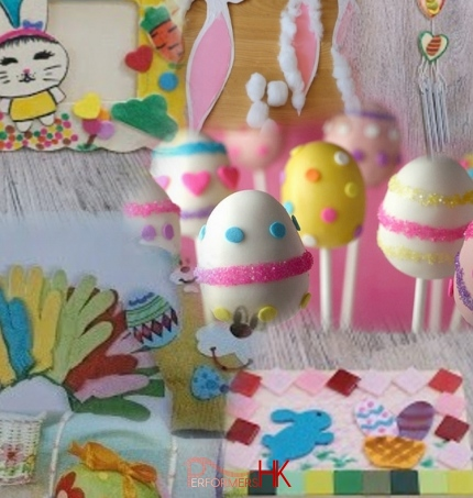 A Hong Kong entertainment agent provided a lot of Easter Crafts options , for their client to choose for a corporate Easter party