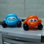 Cute car balloons by Anson.