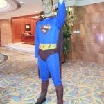 Superman: birthday parties hong kong childrens shows magic juggling functions birthdays party hong kong 生日會派對、小丑、扭汽球、雜耍雜技, 舞蹈  遊戲, 小丑扭汽球、雜耍雜技
