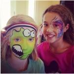 Nina and Sam Face Painting: birthday parties hong kong childrens shows magic juggling functions birthdays party hong kong 生日會派對、小丑、扭汽球、雜耍雜技, 舞蹈  遊戲, 小丑扭汽球、雜耍雜技