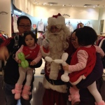 Always a big hit playing santa with any shopping mall in Hong Kong