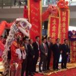 Choi Sun at Hong Kong Airport Chinese new year kick off Ceremony.