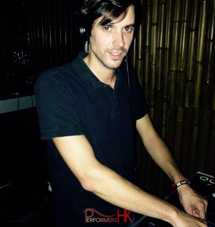 DJ Maison du Nick in Hong Kong