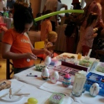Creating and decorating your own Easter eggs.