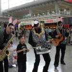 At the Hong Kong Airport Easter event.