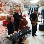 Jazz trio at the Elements.