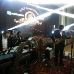 Hong Kong live band performance at a movie theme corporate event