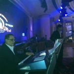 Live band performance in Hong Kong at corporate annual event