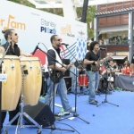 Five Musician in Hong Kong performing at  Stanley Summer Jam corporate event
