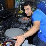 DJ V plays Bollywood, Bhangra and English pop music.