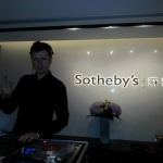 DJ G for Sothebys event.
