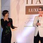 Yamilete as master of ceremoney for Hong Kong Italian Luxury Night.