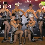 Our glamourous dancers at the Adler event.