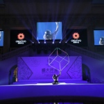 LED Cube performance in Beijing
