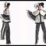 Harlequin Stilt Costume