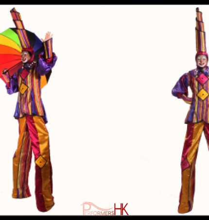 Rainbow stilts
