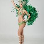 Green Samba Costume