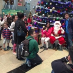 Photos with Santa at Cyberport