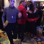Mime performance at Shangri La, Admiralty
