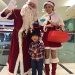 Santa Andy at Maritime Square Hong Kong