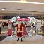 Santa David B at Lane Crawford Time Square