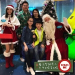 Santa Andy at a mall