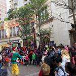Lee Tung Avenue Juggling Hong Kong
