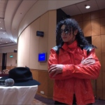 MJ impersonator Hong Kong