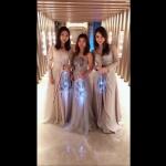 LED trio violins