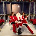 Santa Wayne with Santa Girls photo taking session