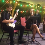 guitarist and singer at hong kong country club mid autumn festival event