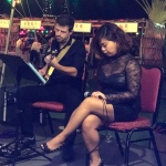 duo performing at mid autumn festival event at Country Club