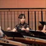 Tracy on Guzheng