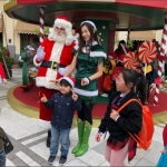 santa HK at an event with long term client repulse bay 109