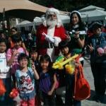 santa with children at 109 repulse bay repulse bay hong kong