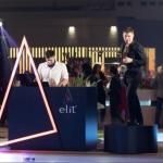 DJ spinning at Asia top 50 restuarant award in Macau